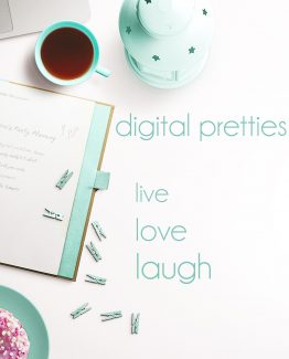 Digital Party & Pretty Stationery
